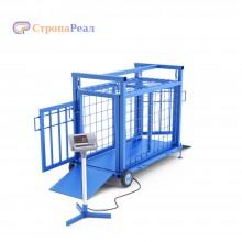 Весы животноводческие ВСП4-ЖсО для поросят